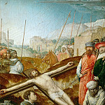 Kunsthistorisches Museum - Juan de Flandes (c. 1465-1519) -- Christ Nailed to the Cross