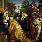 Kunsthistorisches Museum - Paolo Veronese -- Adoration of the Magi