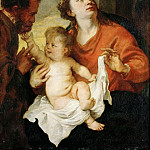 Anthony van Dyck -- Holy Family, Kunsthistorisches Museum