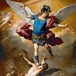 Kunsthistorisches Museum - Luca Giordano -- Archangel Michael Hurls the Rebellious Angels into the Abyss