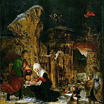 Holy Night, Albrecht Altdorfer