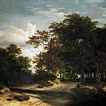 Jacob van Ruisdael -- The Big Forest, Kunsthistorisches Museum