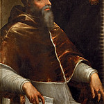 attributed to Sebastiano del Piombo -- Pope Clement VII , Kunsthistorisches Museum