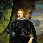 Kunsthistorisches Museum - Anthony van Dyck -- Prince Karl Ludwig of Palatinate (Carlo Emanule d'Este)