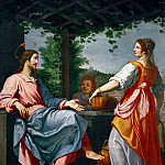 Kunsthistorisches Museum - Giovanni Bilivert -- Christ and the Samaritan Woman at the Well