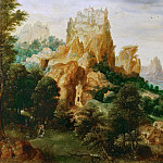 Kunsthistorisches Museum - Herri met de Bles (c. 1510-after 1550) -- Landscape with the Good Samaritan