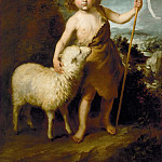 Young John the Baptist, Bartolome Esteban Murillo