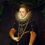 Frans Pourbus the Younger -- Archduchess Konstanze, Queen of Poland , Kunsthistorisches Museum