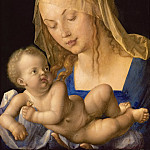 Kunsthistorisches Museum - Albrecht Dürer -- Madonna with the Pear (The Virgin with the Child Holding Half a Pear)