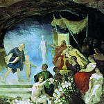 Orpheus in the underworld. End 80, Henryk Semiradsky