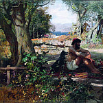Greek merchant , Henryk Semiradsky