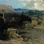 Night at Pompeii. 1879, Henryk Semiradsky
