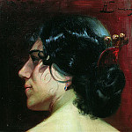 Shadows hair. Last quarter of the XIX century, Henryk Semiradsky
