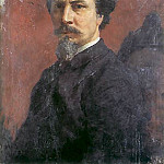 Henryk Semiradsky - Self-Portrait (unfinished). 1876
