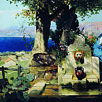 mischievous child, Henryk Semiradsky