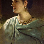 Portrait of a Roman woman. 1890, Henryk Semiradsky