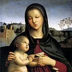 Madonna and Child with the Book