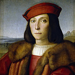 Raffaello Sanzio da Urbino) Raphael (Raffaello Santi - Portrait of a Man, thought to be Francesco Maria della Rovere
