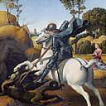 Saint George and the Dragon, Raffaello Sanzio da Urbino) Raphael (Raffaello Santi