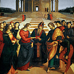 Raffaello Sanzio da Urbino) Raphael (Raffaello Santi - Marriage of the Virgin