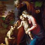 Holy Family with the young Johannes, Raffaello Sanzio da Urbino) Raphael (Raffaello Santi