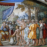 Pinturicchio (Bernardino di Betto) - Distribution of Lands