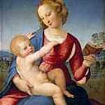 Raffaello Sanzio da Urbino) Raphael (Raffaello Santi - Maria with the child (Madonna Colonna)