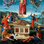 Raffaello Sanzio da Urbino) Raphael (Raffaello Santi - The Resurrection of Christ