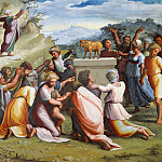 Raffaello Sanzio da Urbino) Raphael (Raffaello Santi - Adoration of the Golden Calf