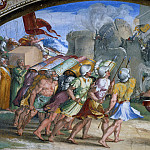 Alessandro Botticelli - Fall of Jericho