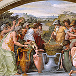 Pinturicchio (Bernardino di Betto) - Abraham and Melchizedek