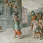 Raffaello Sanzio da Urbino) Raphael (Raffaello Santi - Offering of Gifts to Vertumnus and Pomona (workshop)