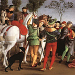 Raffaello Sanzio da Urbino) Raphael (Raffaello Santi - Oddi altarpiece - The Adoration of the Magi
