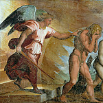 Michelangelo Buonarroti - Expulsion from Paradise