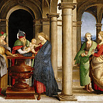 Titian (Tiziano Vecellio) - Oddi altarpiece - Presentation in the Temple
