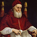 Uffizi - Portrait of Pope Julius II