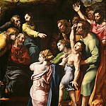Titian (Tiziano Vecellio) - Transfiguration of Christ (fragment)