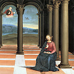 Oddi altarpiece - The Annunciation