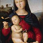 Raffaello Sanzio da Urbino) Raphael (Raffaello Santi - Maria with the child (Madonna Solly)