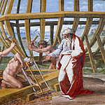 Alessandro Botticelli - Building of the Ark