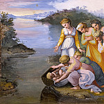 Raffaello Sanzio da Urbino) Raphael (Raffaello Santi - Moses Saved from the Waters