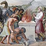 Alessandro Botticelli - Sacrifice of Noah
