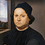 Antique world maps HQ - Portrait of Perugino (attr.)