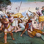 Giulio Romano - David Kills Goliath