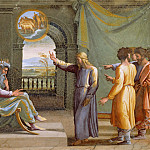 Raffaello Sanzio da Urbino) Raphael (Raffaello Santi - Joseph Interprets the Pharaoh´s Dream