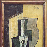 1918 Nature morte Е la guitare, Pablo Picasso (1881-1973) Period of creation: 1908-1918