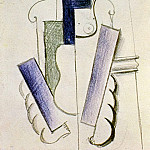 Pablo Picasso (1881-1973) Period of creation: 1908-1918 - 1916 Femme-Guitare sur une table