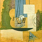 1912 Violon1, Pablo Picasso (1881-1973) Period of creation: 1908-1918