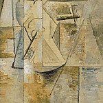 1912 Le pigeon, Pablo Picasso (1881-1973) Period of creation: 1908-1918