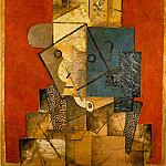 1915 Homme, Pablo Picasso (1881-1973) Period of creation: 1908-1918